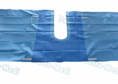 China U Drape , U Split Surgery Disposable Surgical Drapes With 5cm Adhesive Tape And Tube Holders supplier
