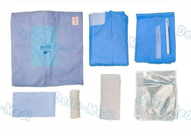 Knee Disposable Surgical Packs , Surgical Arthroscopy Pack Integrated Liquid Collection Pouch