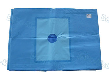 Disposable Extremity Surgical Drapes Shoulder Drape For Upper Limb Aperture With Absorbent Reinforced