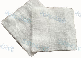 China 10 X 10 Cm Sterile Gauze Sponges , 8 Ply 100% Cotton Gauze Swabs Pads supplier