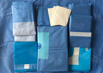 Sterile Hospital Disposable Surgical Packs Comfortable Preventing Liquid / Barrier Bacteria