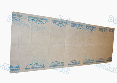 Disposable Examination Table Bed Cover , Non Woven Spa Bed Sheet Washing Free With LOGO