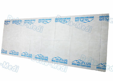 China Disposable Examination Table Bed Cover , Non Woven Spa Bed Sheet Washing Free With LOGO supplier