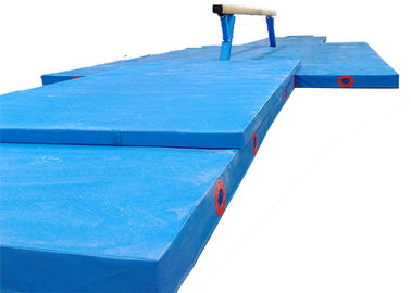 China Professional Gymnastics Training Mats , Extra Large Gymnastics Landing Mats supplier
