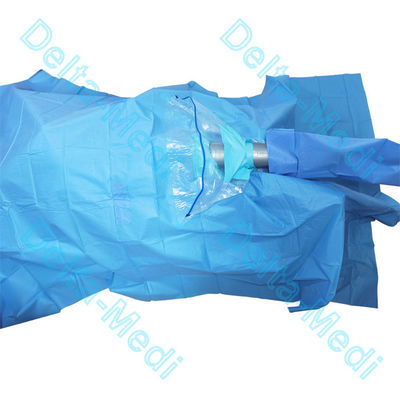 Blue SMMS Surgical Arthroscopy Pack  With Tube Holder