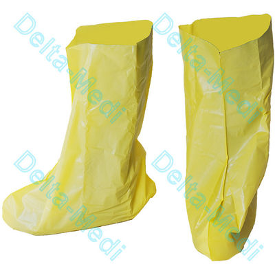 Disposable Polypropylene Non Woven Boot Shoe Cover Full Coverage