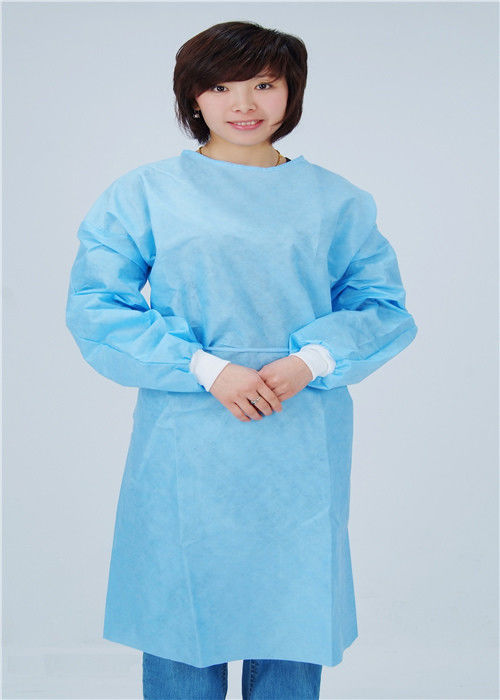 Blue Anti Static Disposable Protective Apparel For Epidemic Prevention