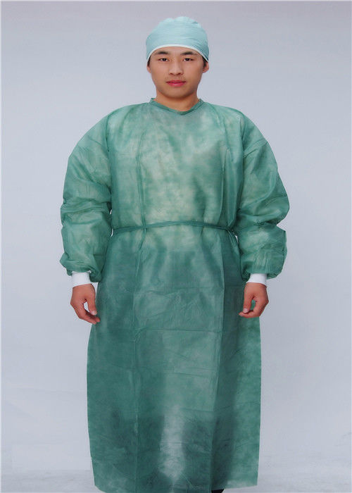 Medical XXL Disposable Protective Apparel With Knitted Cuffs