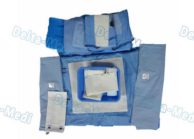 Hospital Abdominal Delivery Disposable Surgical Packs With Clamp High Safety