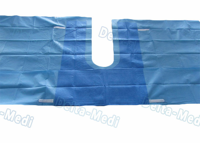 U Drape , U Split Surgery Disposable Surgical Drapes With 5cm Adhesive Tape And Tube Holders