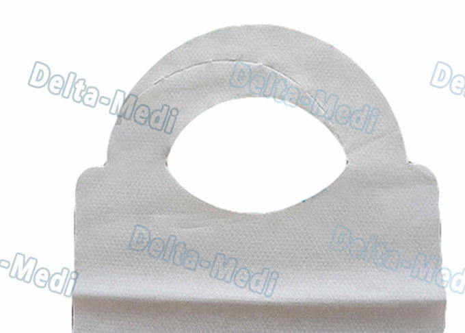 Adult Feeding Disposable Dental Bibs , Custom Disposable Bibs For Adults