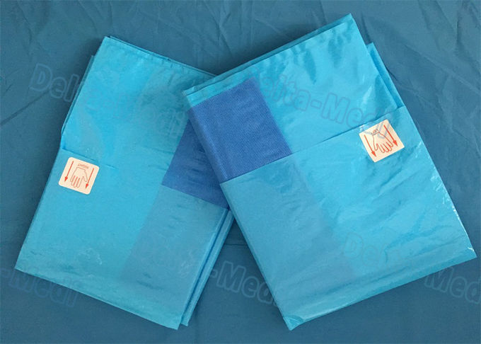 Blue / Green Drape Op - Tape Self Adhesive Disposable Kit Surface 50 X 9CM 50 X 10CM